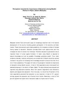British Literature: Women's role in Chilean Education; the burden of ...