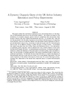 australian airline oligopoly essay Oligopoly market structure is market, where small numbers of sellers dominate and decide different market related decisions example airline industry.