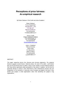 Empirical research papers