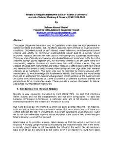Dissertation Topics in Islamic Finance | Islamic Finance Expert