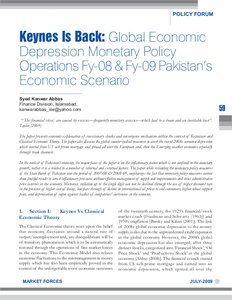 MA Economics Past Papers