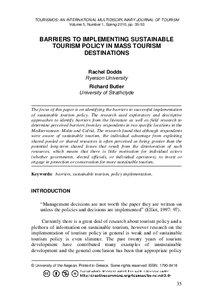 Sustainable Tourism Development A Critique Essay - image 8