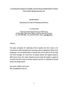 Global Financial Crisis Essays (Examples)
