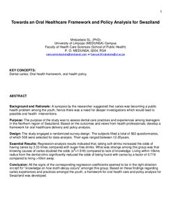 Policy analysis paper example