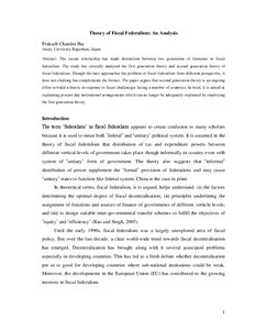 Essay On Business Ethics Effects Of Centralization And Decentralization Of Electoral Administr An  Essay On Fiscal Federalism Pierrekopp Com Sample Essays For High School Students also Examples Of Thesis Statements For Expository Essays Best Buy Resume Application Emeryville Job Debatable Point Thesis  High School Graduation Essay