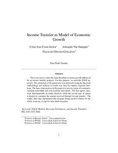 neoclassical model of economic growth pdf