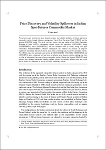 Commodity exchange market in india pdf printer
