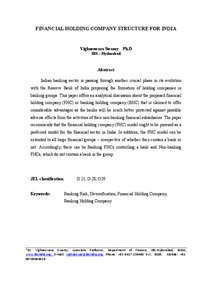 Structuring Corporate Financial Policy Essay Sample