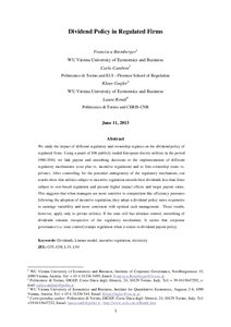 literature review of dividend policy Does corporate governance affect dividend determinants of dividend policy and its association to corporate section 2 presents the literature review in.