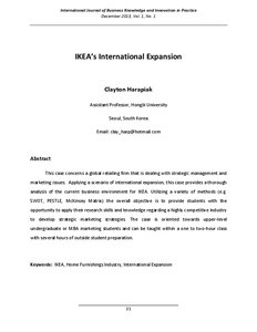 High Stakes of International Expansion Essay Sample