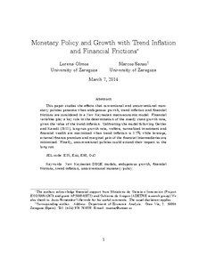Monetary policy essay