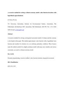 Recursive Methods In Economic Dynamics Pdf