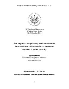 Relationship analysis paper