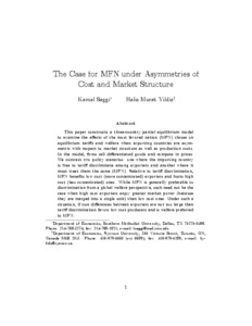 sunk costs and market structure pdf