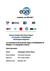 An Assessment of the Economic Impact of Globalization In
